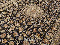 10 x 13 Handmade High Quality SIGNED Antique 1930s Fine Soft Wool Oriental Rug