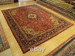 10 x 13 Handmade High Quality SIGNED Antique Azeri Oriental Rug Fine Soft Wool