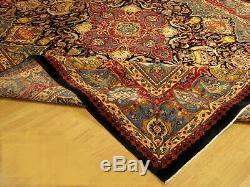 10 x 13 High Quality Handmade SIGNED Pictorial Design Azeri Rug Fine Soft Wool