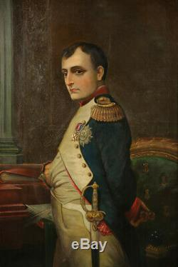 19 Century Napoleon High Quality Portrait Military Antique French Decorative