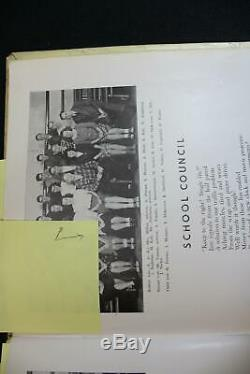 1947 Neil Armstrong Signed High School Yearbook NASA Apollo 11 Astronaut