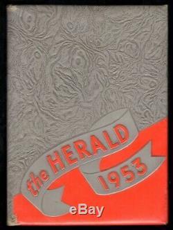 1953 ELVIS PRESLEY Inscribed Signed sr High School Yearbook Heartbreak Hotel