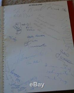 1960 Iggy Pop Tappan Junior High School 7th Grade Yearbook Signed With Bob Seger