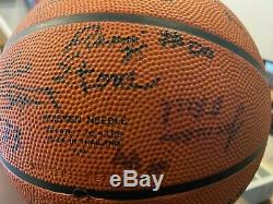 1995 Kobe Bryant Beach Ball Classic High School Signed Basketball #33 PSA/DNA