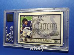 1999 Topps Chrome Edgerrin James Rookie Refractor Sp High Grade Psa 10 Gem Mint
