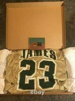 2003 LeBron James Auto Signed High School St. V Jersey Rookie UDA EXTREMELY RARE
