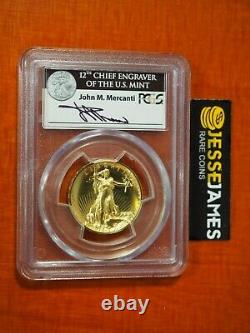 2009 $20 Ultra High Relief Gold Double Eagle Pcgs Ms69 John Mercanti Signed Uhr