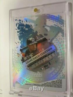 2014 Topps High Tek GIANCARLO STANTON sp 1/1 AUTO HoT 1 of 1 Signed Autograph