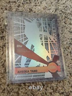 2017 Star Wars High Tek Autograph Auto #12 Ashley Eckstein as Ahsoka Tano