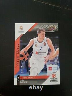 2017 Upper Deck /20 Euroleague Luka Doncic High Gloss RC Rookie Sp Ssp Rare Mavs