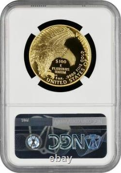 2019-W $100 Gold American Liberty High Relief NGC SP70 UC Weaver Signed 2021 W