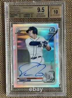 2020 Bowman Chrome Draft Auto Refractorshigh Subs Spencer Torkelson /499