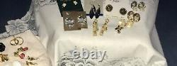 67pc High End Vintage Jewelry Lot Monet Coventry Napier Crown Trifari, All Signed