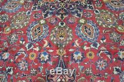 9'5 x 12'5 Signed Fine High KPSI Genuine S Antique Handmade Wool Area Rug Carpet