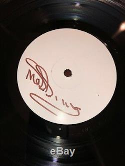 AUTOGRAPHED Morrissey (The Smiths) Low in High School Test Pressing Vinyl Poster