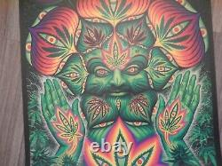 Alex Grey 19th High Times Cannabis Cup Signed and Doodled Poster