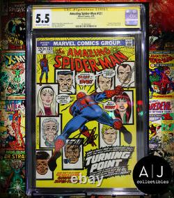 Amazing Spider-Man #121 CGC 5.5 STAN LEE SIGNED! (Marvel) HIGH RES SCANS