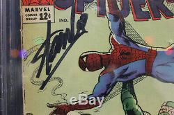Amazing Spider-Man #20 PGX 4.0 STAN LEE SIGNED! (Marvel) HIGH RES SCANS