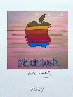 Andy Warhol Apple, 1985. High Quality Lithograph