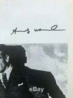 Andy Warhol Original Hand Signed Print with COA- High Resale Value