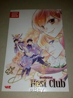 Anime Expo 2019 Ouran High School Host Club Signed print By Bisco Hatori