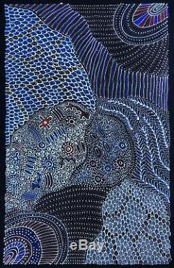Anna Petyarre (Pitjara), Highly collectable Aboriginal art. Inc, COA and Photo's