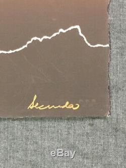 Arthur Secunda High Rise 1980 Limited Edition Print Silkscreen 20 x 30