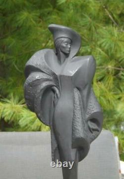Austin Productions Danel Sculpture 5th Avenue Art Deco High Fashion 18 EXC 1991