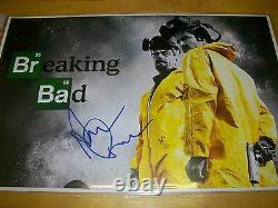 BREAKING BAD AARON PAUL HAND SIGNED 11X17 HIGH QUALITY POSTER WithEXACT PROOF