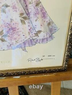 Barbie HIGH FASHION Model Collection Robert Best Print Art Framed No 3688/5000