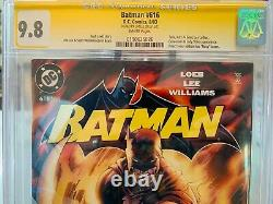 Batman #616 CGC 9.8 SS Signed Jim Lee Hush! Free Shipping High Grade Key Issue