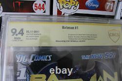Batman New 52 #1 CBCS 9.4 SIGNED by Scott Snyder (DC) HIGH RES SCANS