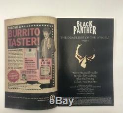 Black Panther #1 Key NM 1st Shuri BP J Scott Campbell HIGH GRADE Signed Lashley