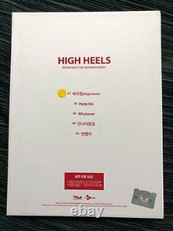 Brave Girls Signed Album Not For Sale Promo High Heels Kpop Rare rollin