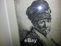 Bust of a Man Wearing a High Cap Rembrandt