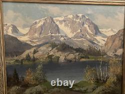 Carl Sammons Gull Lake High Sierra 1945