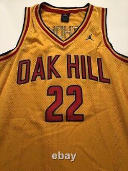 Carmelo Anthony Oak Hill High School Signed Jersey CARMELO SYRACUSE ORANGE HTF