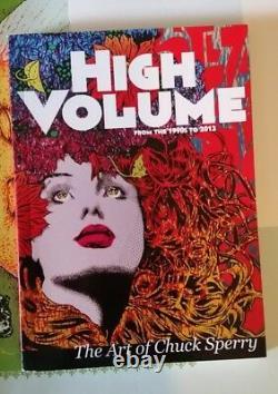 Chuck Sperry High Volume The Art Of Chuck Sperry Book Signed