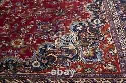 Classic Floral Style Extra Large 9'7X13'5 Signed Handmade Oriental Rug Carpet