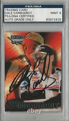 Dale Earnhardt Sr. PSA/DNA Signed Autograph 1999 Wheels High Gear Autograph Card