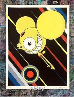 Dalek Space Monkey Print Flying High AP 25th Anniversary James Marshall