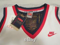 David Robinson Signed USA Jersey Jsa, Very High Grade Jersey. Impossible To Find