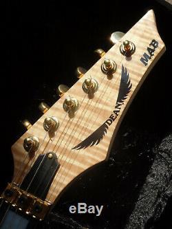 Dean USA Michael Angelo Batio MAB GN LTD #32 of 50 Handsigned High-End Guitar