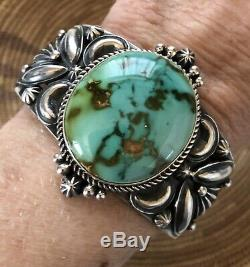 Derrick Gordon High Grade Royston Turquoise Cuff Signed