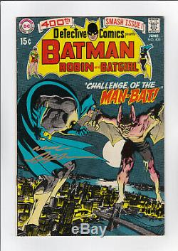 Detective Comics #400 (S DC N) FN+! HIGH RES SCANS! SIGNED BY NEAL ADAMS