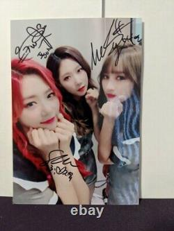Dreamcatcher Handong Jiu Siyeon Fly High Signed Photo Picture Photocard Polaroid
