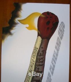 EMEK-High on Fire'06, Hand Burned-#54/150, Signed-Doodled-Embossed by Artist