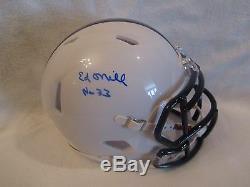 Ed O'Neill (Actor-Married With Children) Autographed Polk High Helmet Schwartz