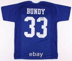 Ed O'Neill Signed Married With Children Polk High Jersey Inscribed Al Bundy