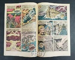 Eternals #1, 2 (marvel, 1976) Signed By Jack Kirby! High Grade! Mcu! Lot Of 2
